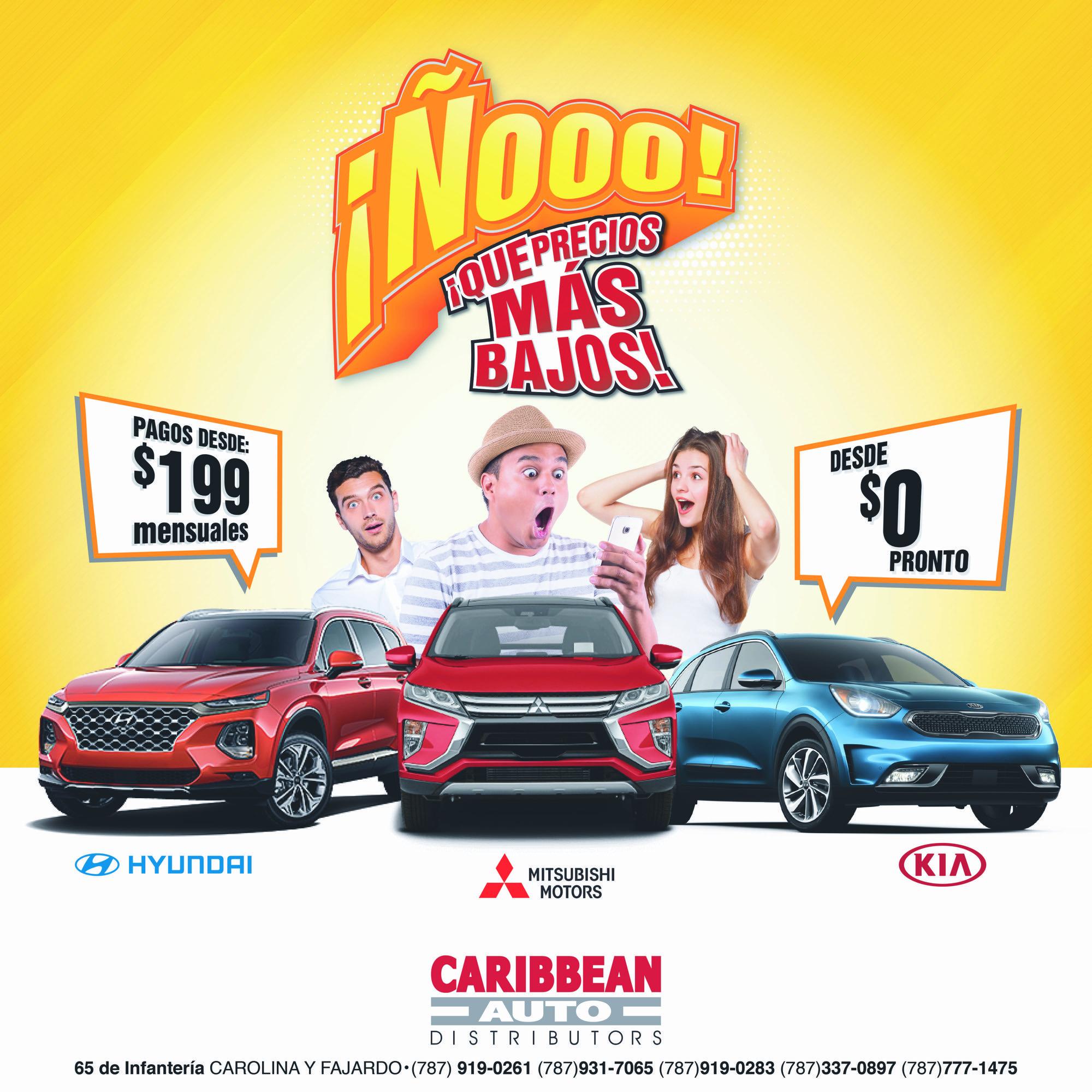 Caribbean Auto precios bajos en Puerto Rico