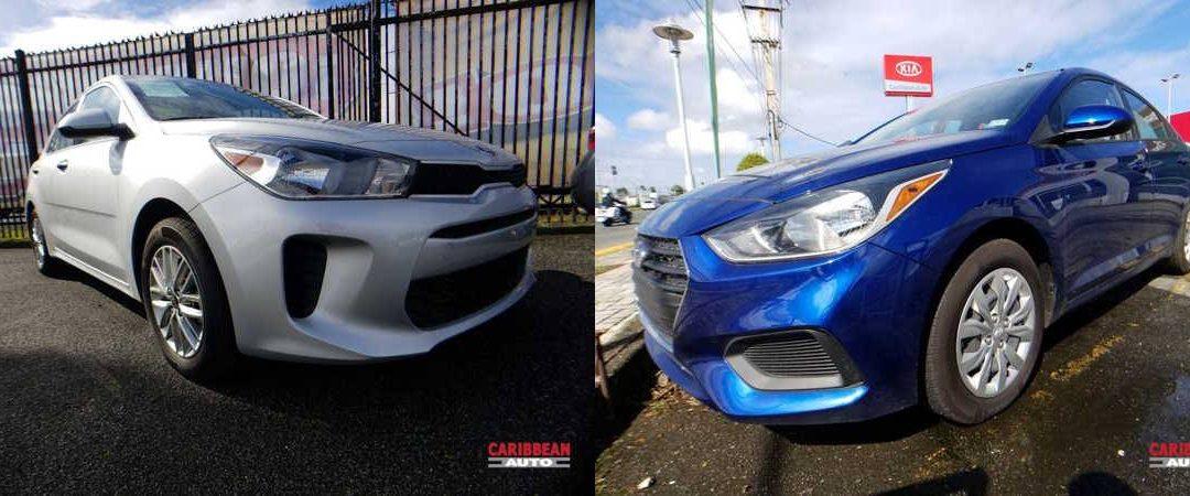 Hyundai Accent vs. KIA Rio Sedán, pequeños detalles que hacen la diferencia