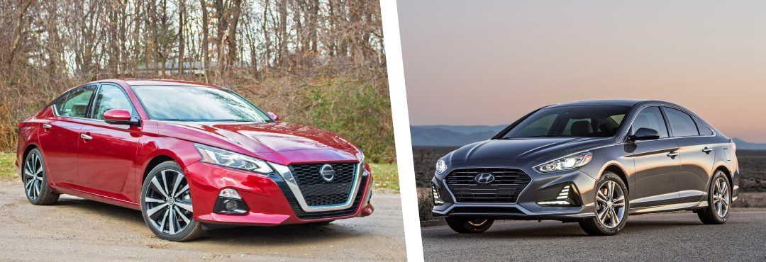 Hyundai Sonata vs Nissan Altima