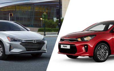 Hyundai Elantra vs. Kia Rio ¿cuál sedán es mejor comprar?