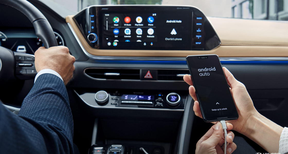 hyundai sonata 2020 android auto apple carplay