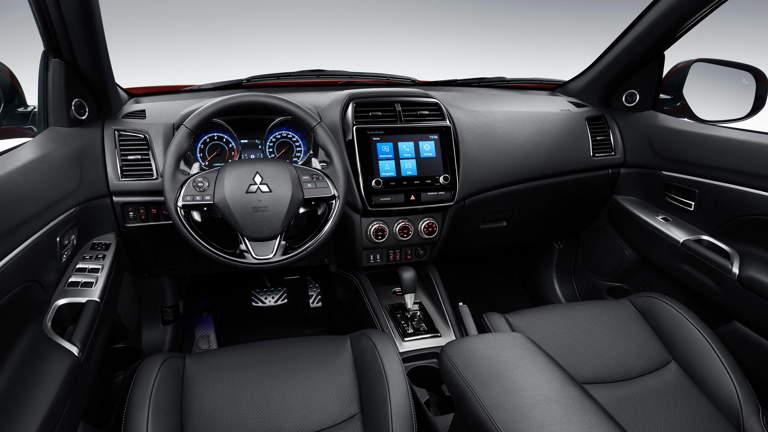Diseño interior del Mitsubishi Outlander Sport 2020