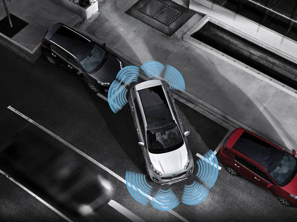 kia sportage 2020 Sensores de estacionamiento frontales y traseros