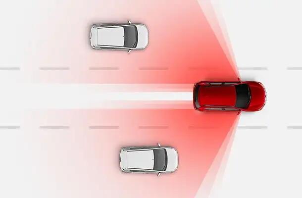 Sistemas de Seguridad punto ciego en Mitsubishi Outlander Sport