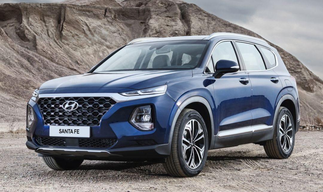 Hyundai Santa Fe 2020. Características principales