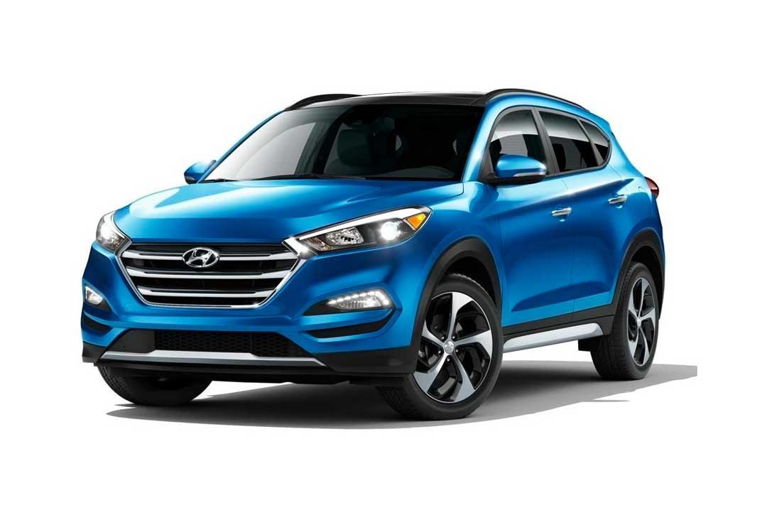 Vehículos, Hyundai, Carro, SUV, Tucson, Santa Fé, Azul