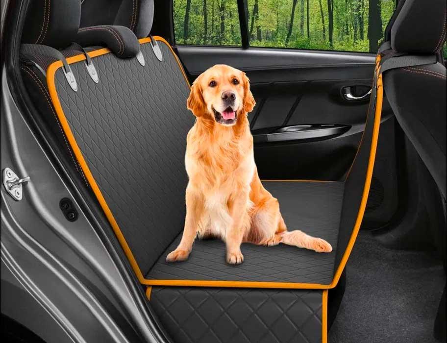 Mascota, perro en el vehículo, Carro, Auto, Accesorios, asientos traseros