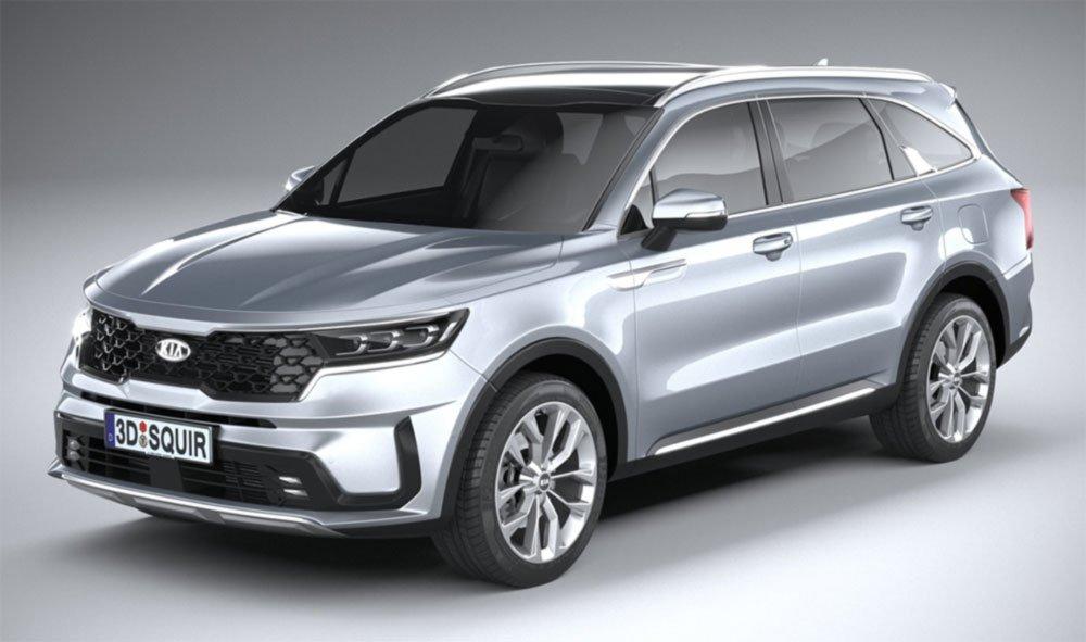 Kia, Sorento, 2021, Gris, SUV