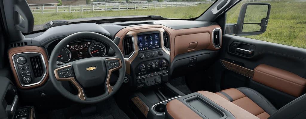 Interior, Chevrolet, Silverado, 2020, Leather, Radio, Asientos, Confort