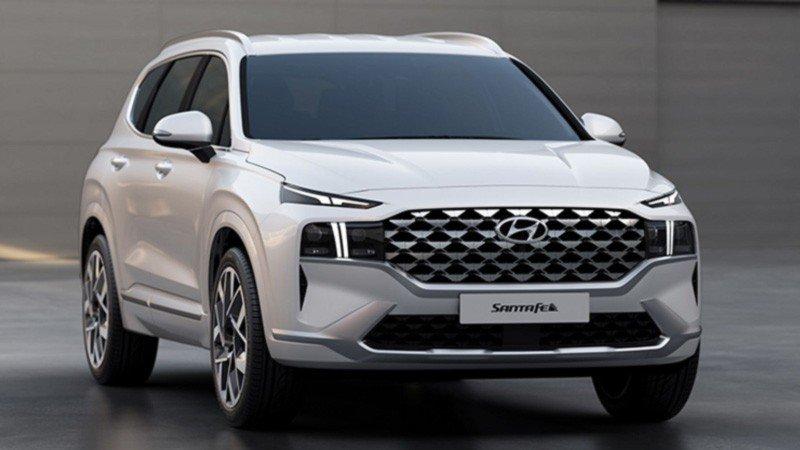 Hyundai, Santa Fe, 2021, SUV, Blanca, Lujosa