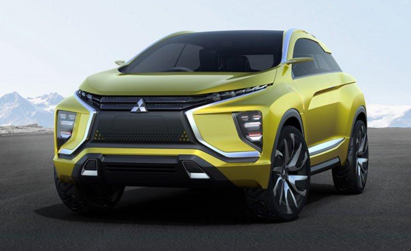 Mitsubishi, Eclipse Cross, Año 2021, Verde limón, Amarilla, En el campo