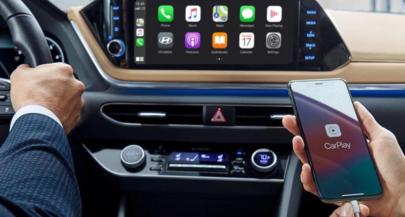 hyundai sonata 2020 android auto apple carplay