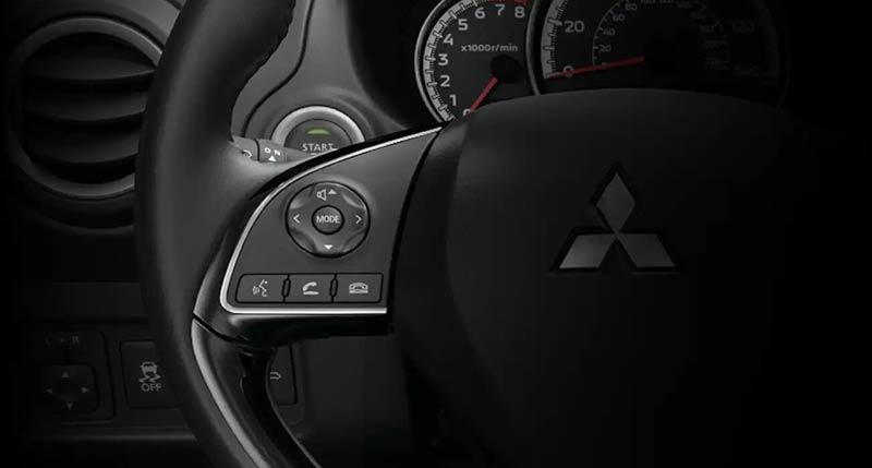 Mitsubishi Mirage 2019 handfree Bluetooth system